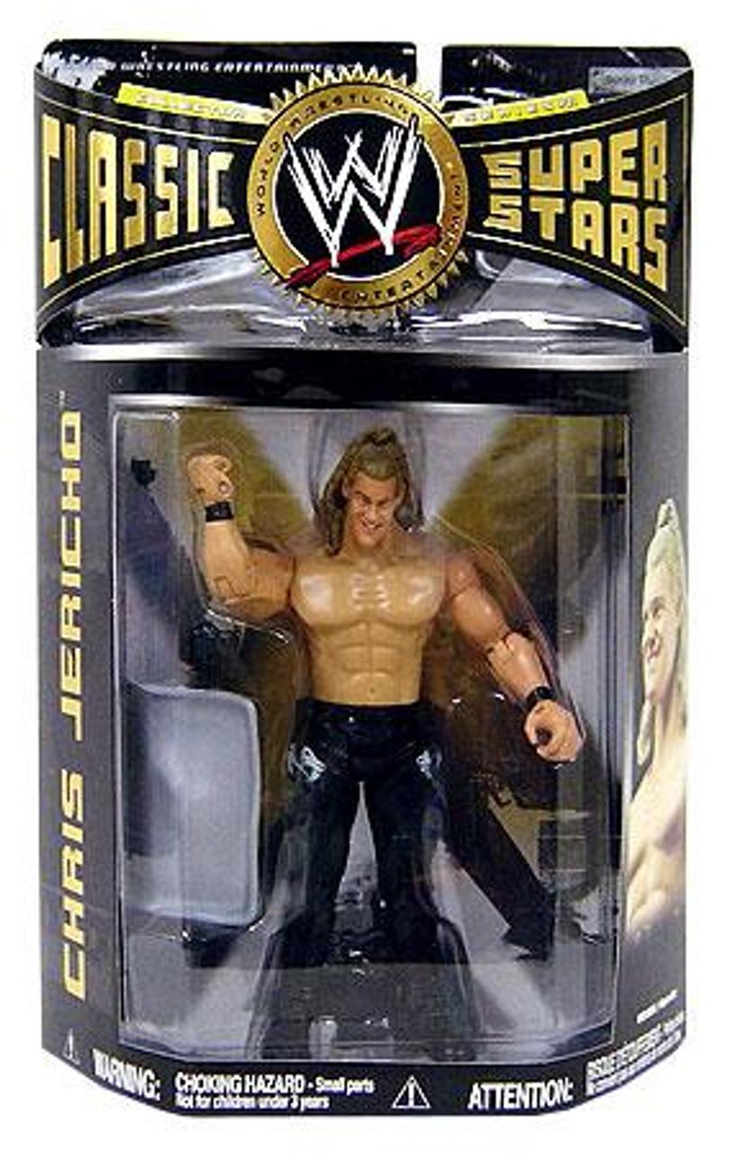 WWE Wrestling Classic Superstars Series 21 Chris Jericho Action Figure