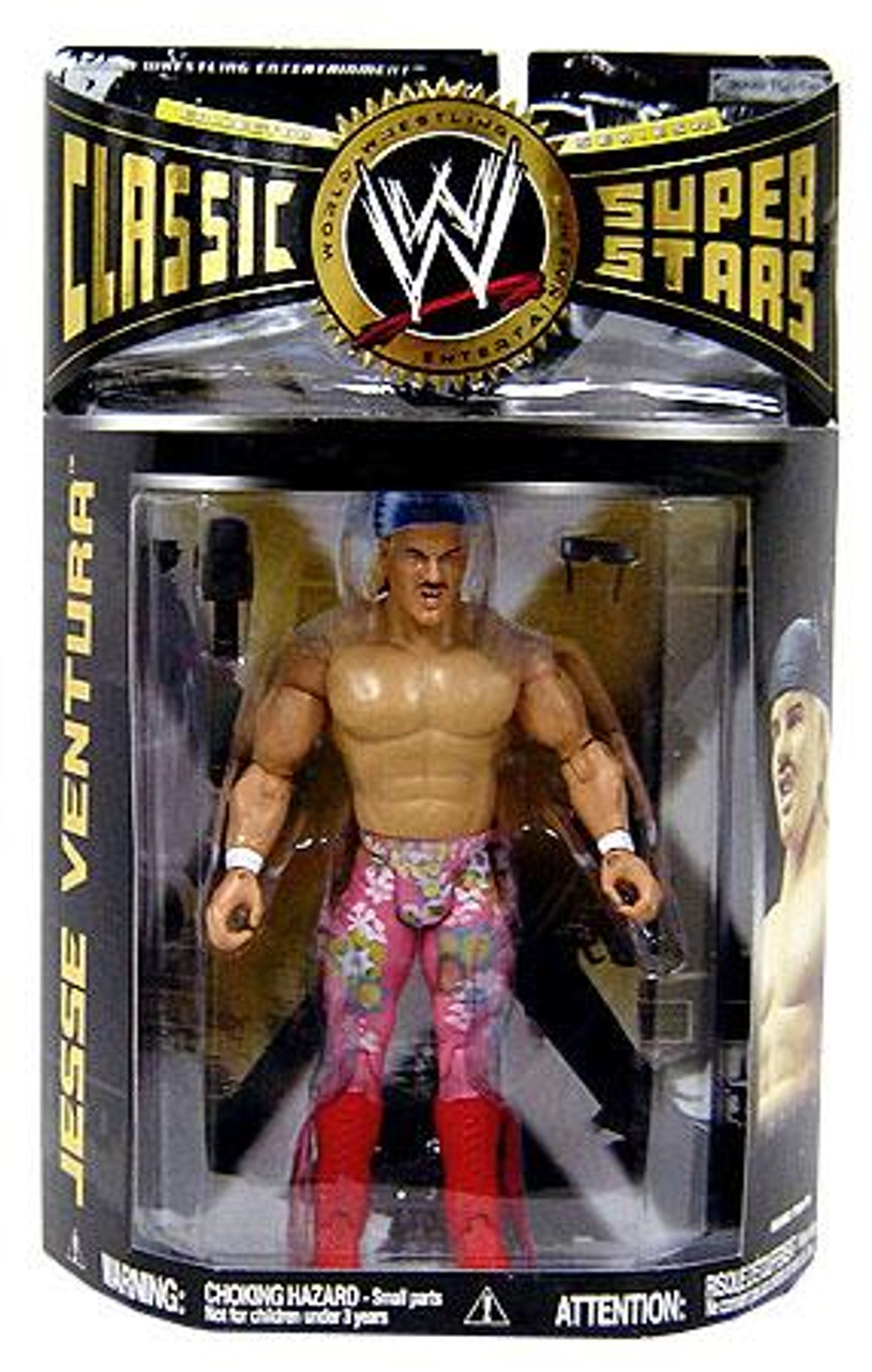 WWE Wrestling Classic Superstars Series 21 Jesse Ventura Action Figure
