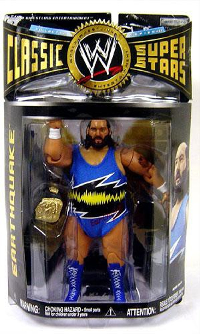 WWE Wrestling Classic Superstars Series 22 Earthquake Action Figure