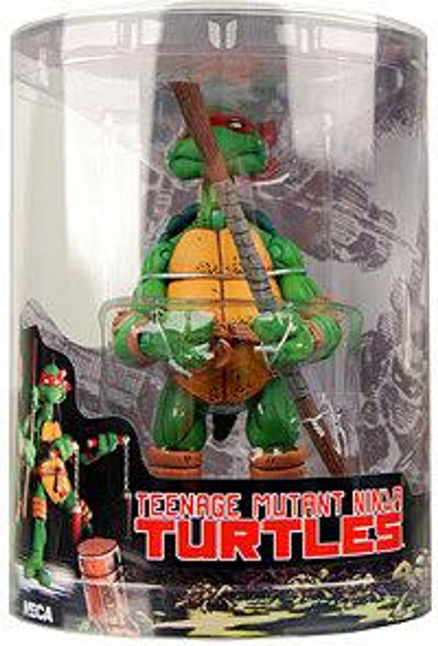 NECA Teenage Mutant Ninja Turtles Mirage Comic Donatello Action FIgure [Tube Packaging]