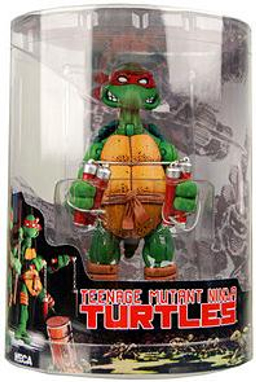 NECA Teenage Mutant Ninja Turtles Mirage Comic Michelangelo Action FIgure [Tube Packaging]