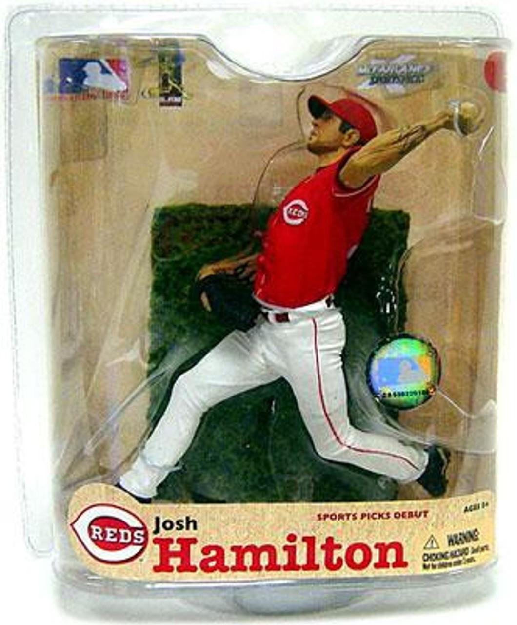 McFarlane Toys MLB Cincinnati Reds Sports Picks Series 21 Josh Hamilton Action Figure