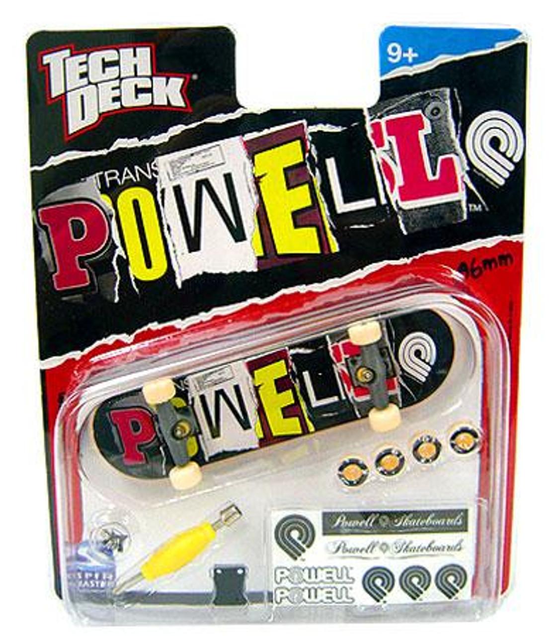 Tech Deck Powell 96mm Mini Skateboard [Ransom Note Logo]