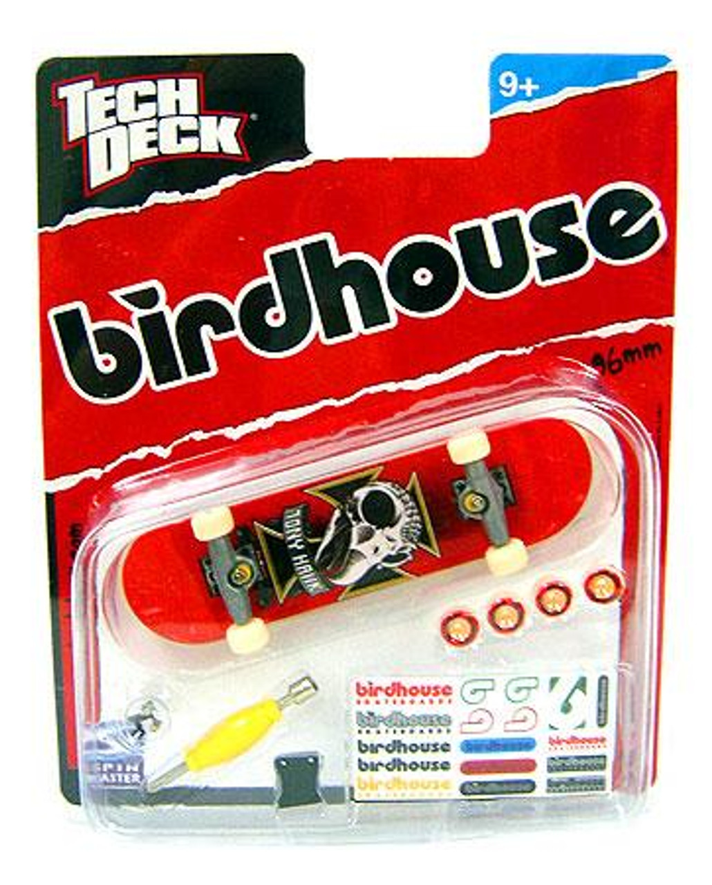 Tech Deck Birdhouse 96mm Mini Skateboard [Tony Hawk]