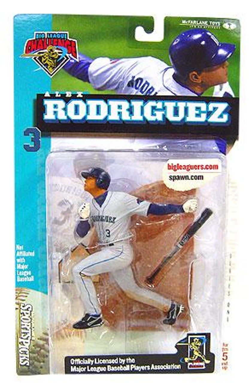 McFarlane Toys MLB Seattle Mariners Sports Picks Big League Challenge Alex Rodriguez Exclusive Action Figure