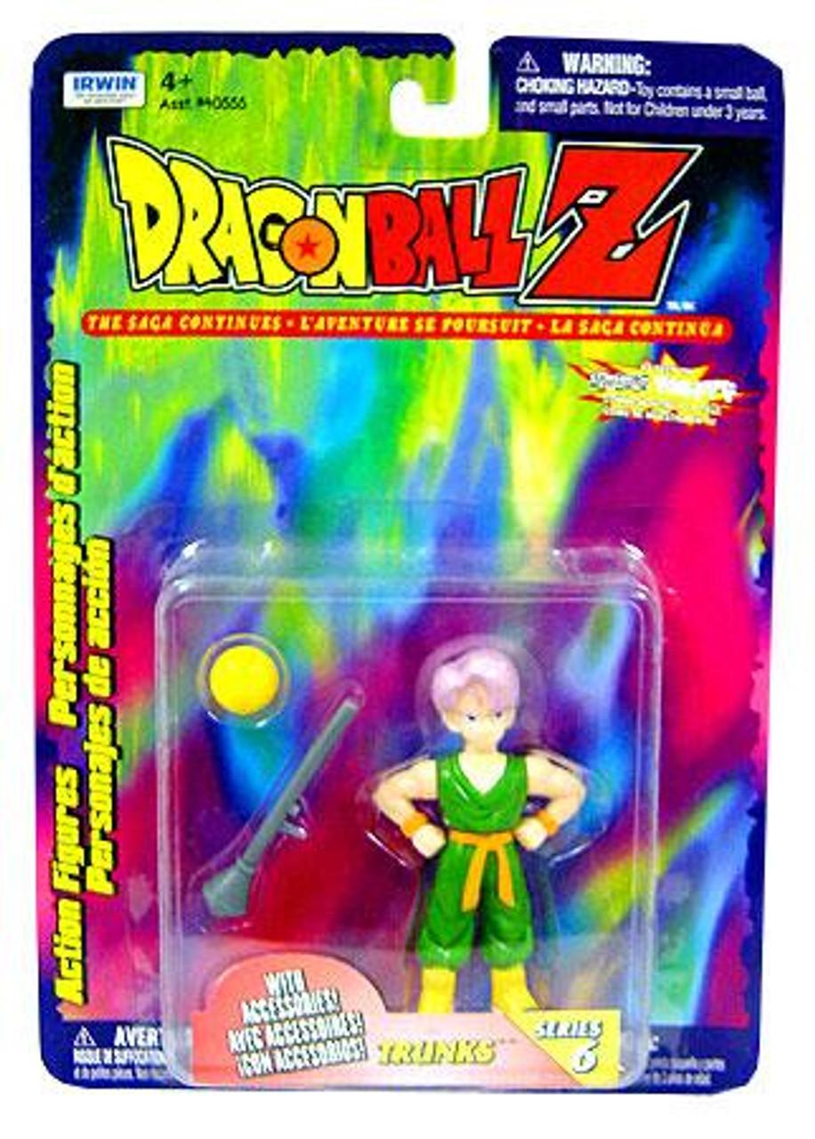 Dragon Ball Z Series 6 Trunks Action Figure