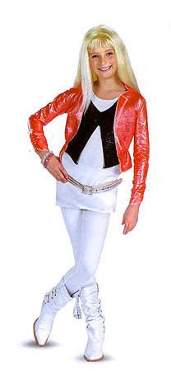 Disney Hannah Montana with Pink Jacket & Wig Costume #7195 [Child Girls L 10-12]