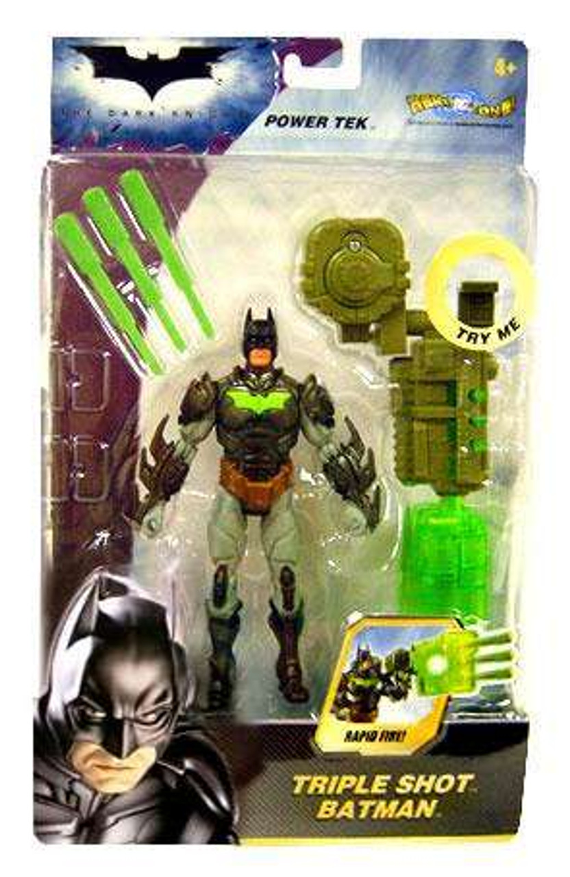 The Dark Knight Power Tek Batman Action Figure [Triple Shot]