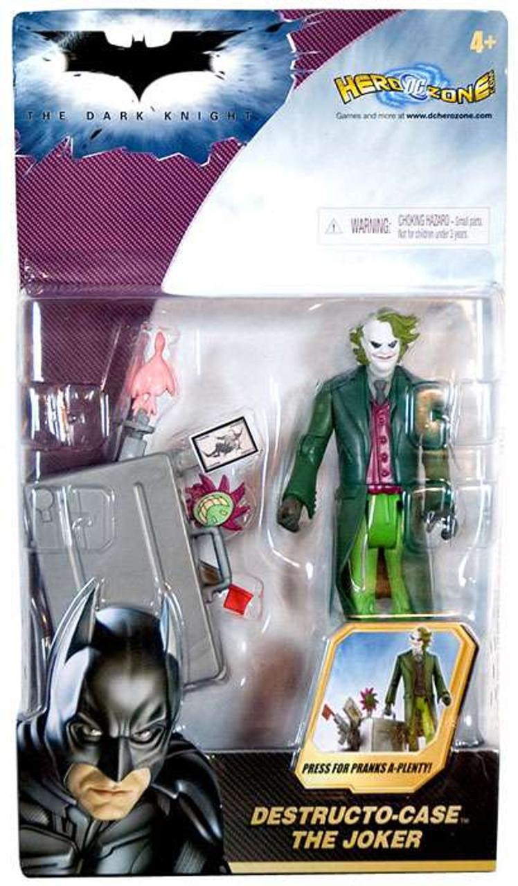 Batman The Dark Knight The Joker Action Figure [Destructo Case]