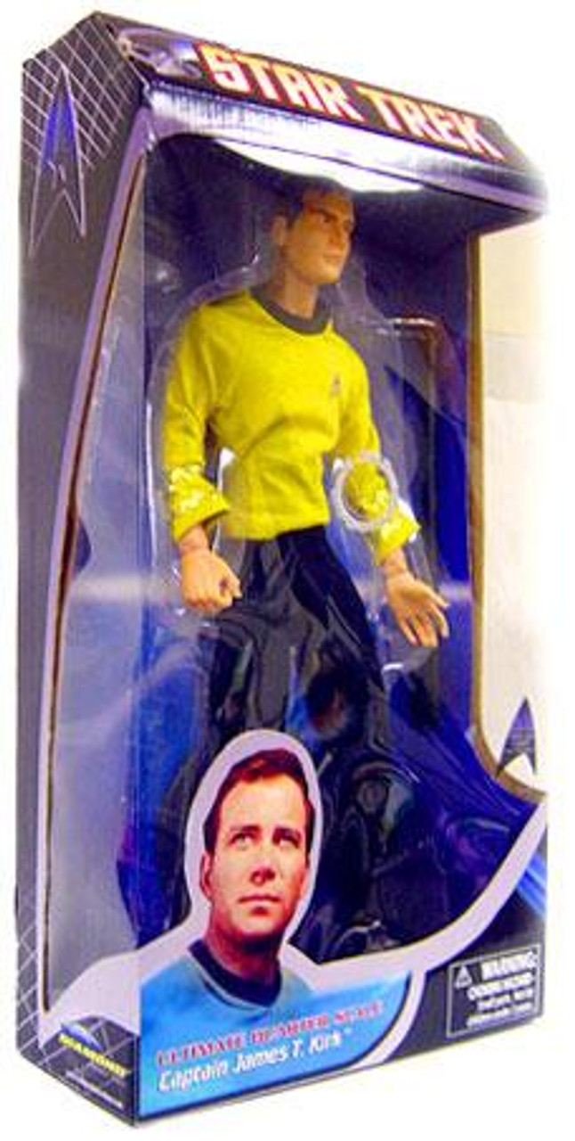 Star Trek The Original Series Captain James T. Kirk Action Figure [Damaged Package]
