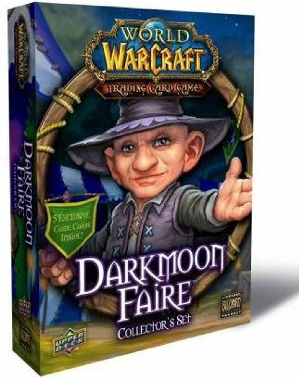 World of Warcraft Trading Card Game Darkmoon Faire Collector's Set
