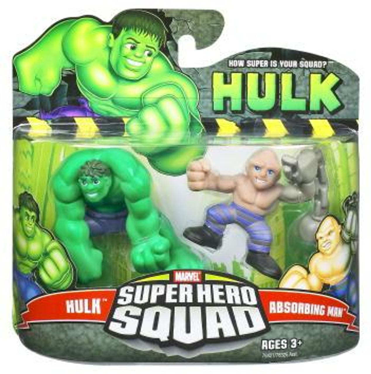 Super Hero Squad Hulk & Absorbing Man Action Figure 2-Pack