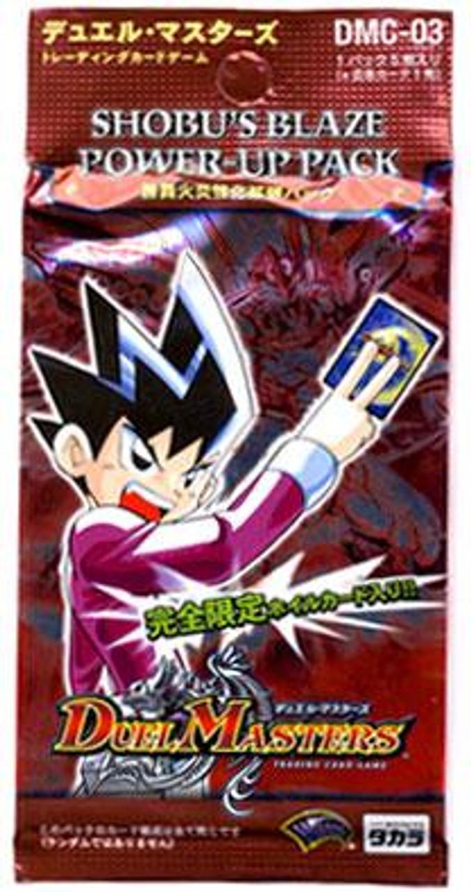 Duel Masters Japanese Card Game Shobu's Blaze Power-Up Pack DMC-03 [Japanese]