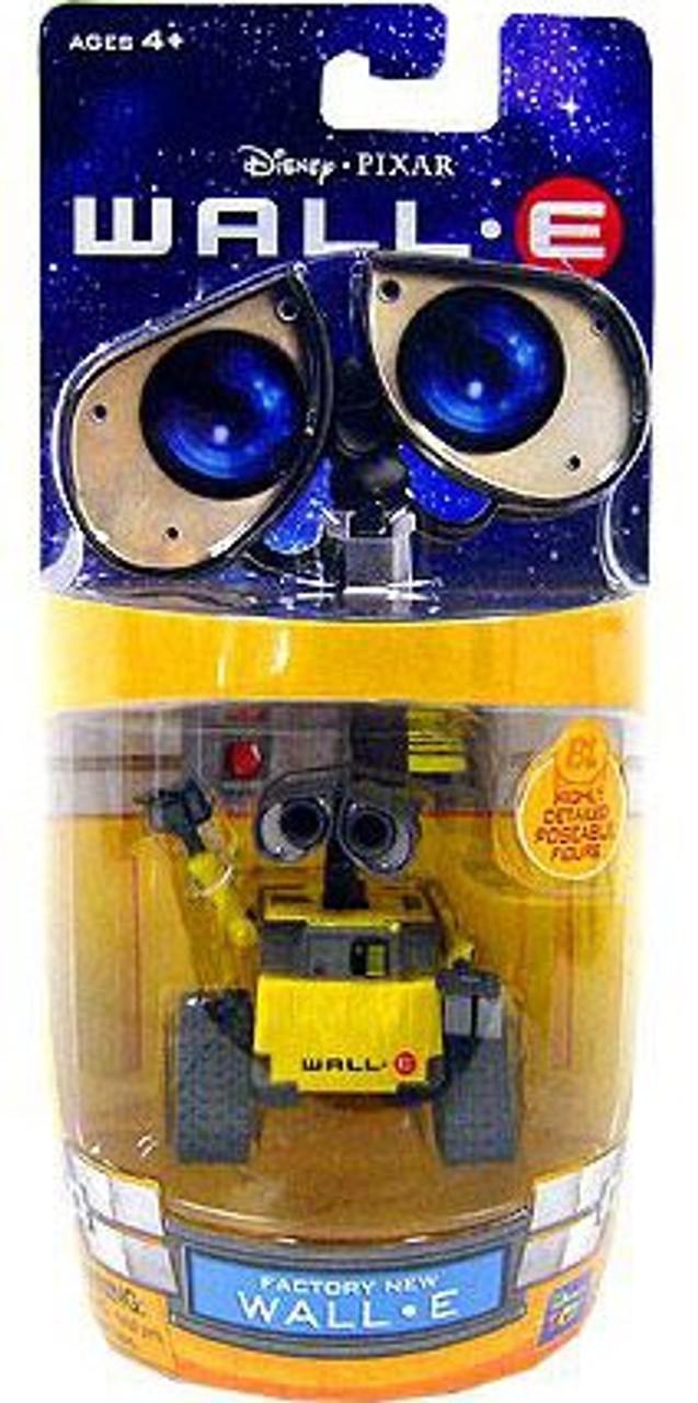 Disney / Pixar 3 Inch Poseable Factory New Wall-E Mini Figure