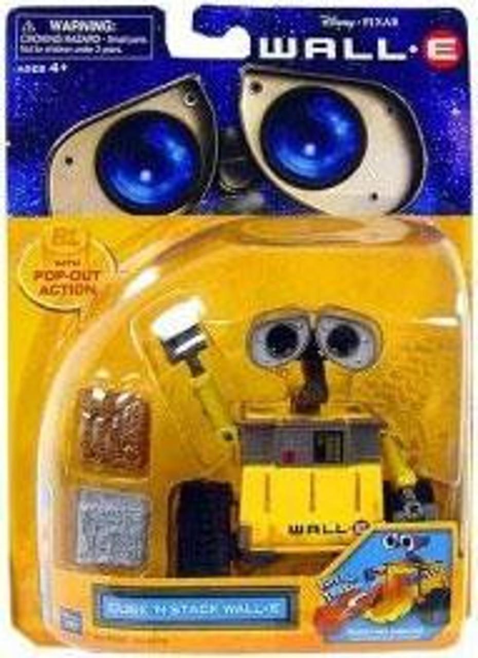 Disney / Pixar Deluxe Figures Cube 'N Stack Wall-E Figure