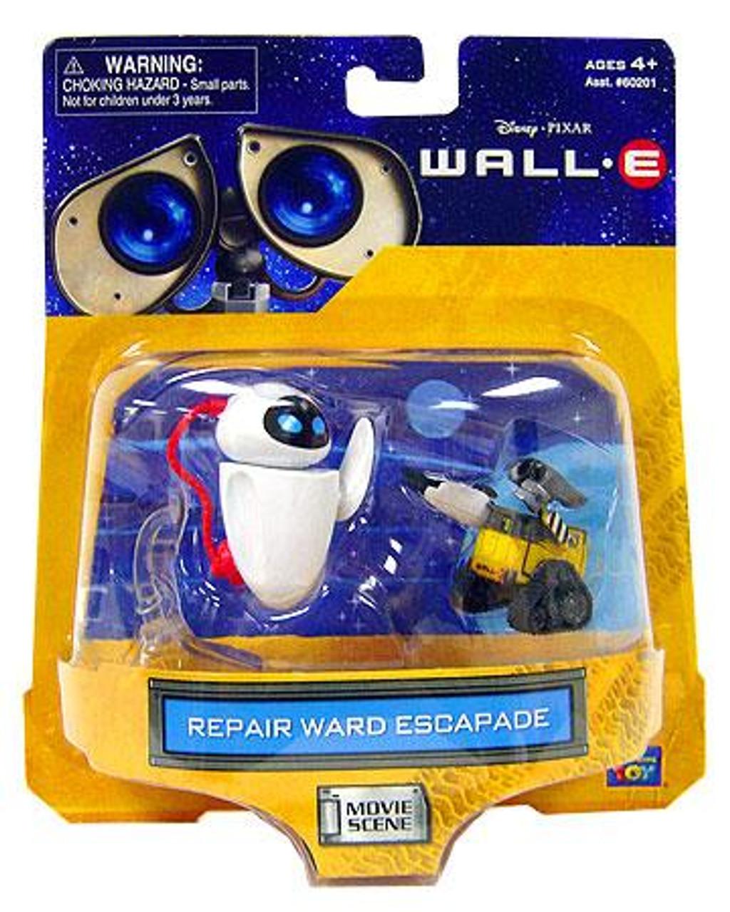 Disney / Pixar Wall-E Movie Scene Repair Ward Escapade Mini Figure 2-Pack
