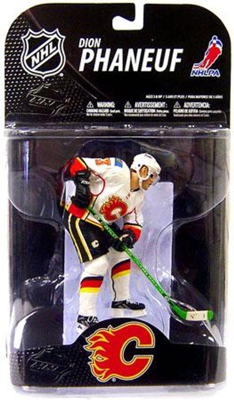McFarlane Toys NHL Calgary Flames Sports Picks Series 20 Dion Phaneuf Action Figure