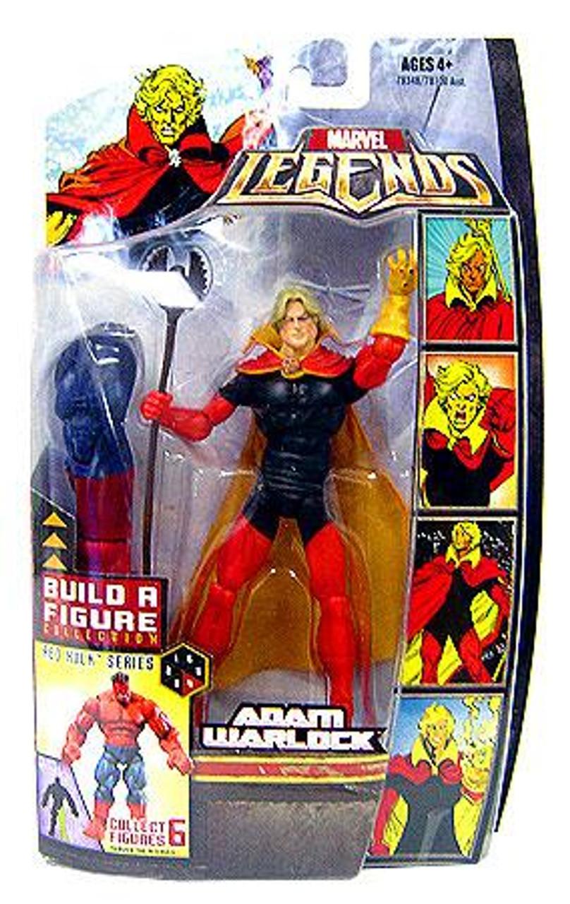 Marvel Legends Red Hulk Build a Figure Adam Warlock Exclusive Action Figure