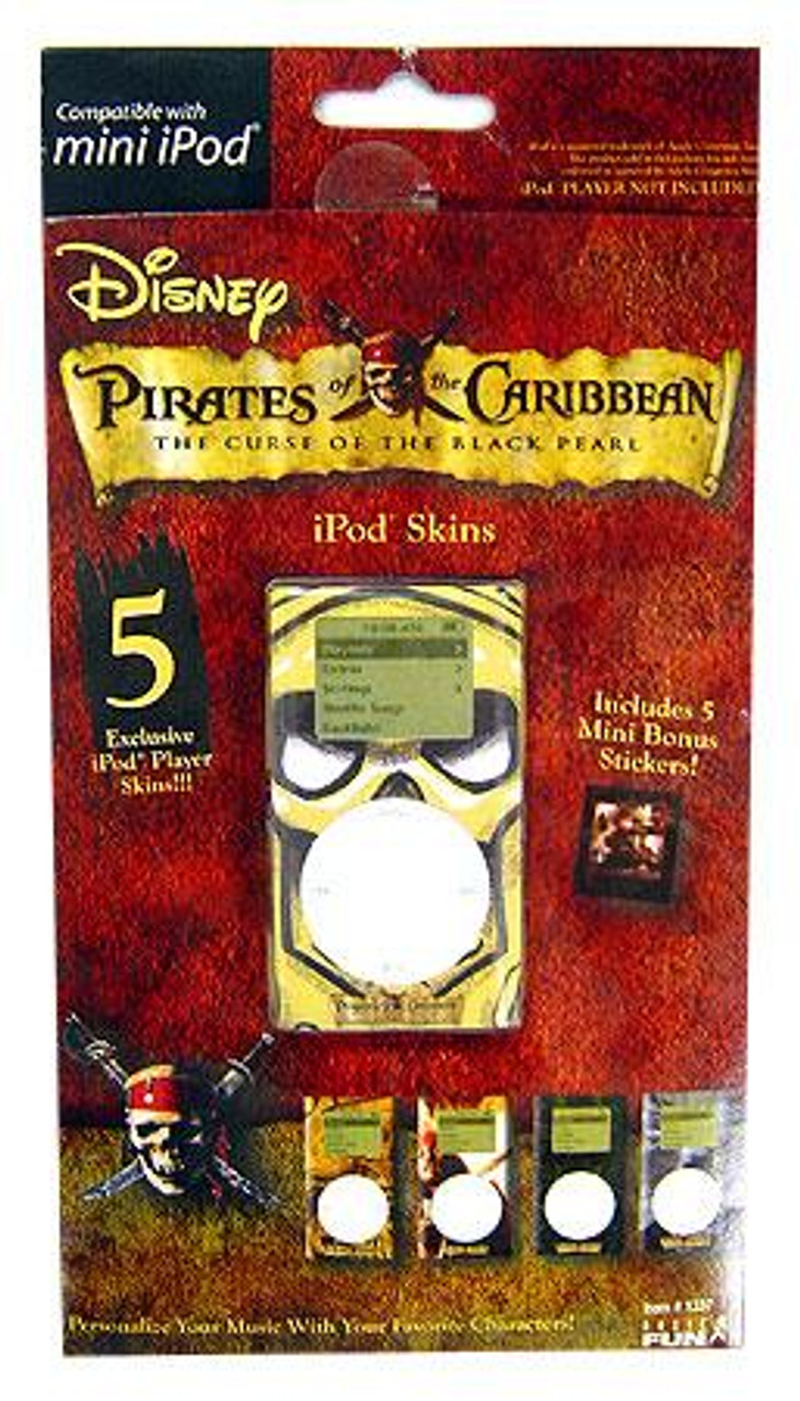 Pirates of the Caribbean Curse of the Black Pearl Pirates of the Carribean iPod Skin [Mini iPod]