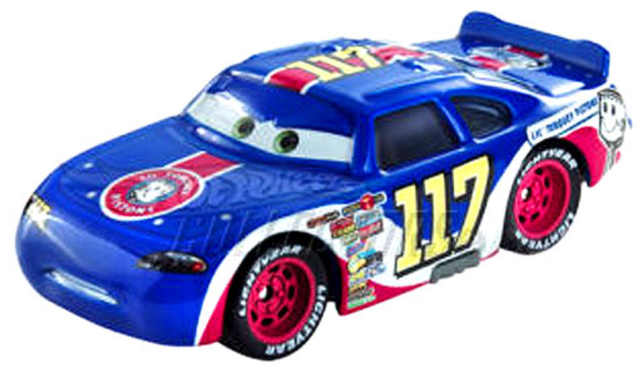 Disney cars speedway of the south no 117 lil torquey for Speedway motors used cars
