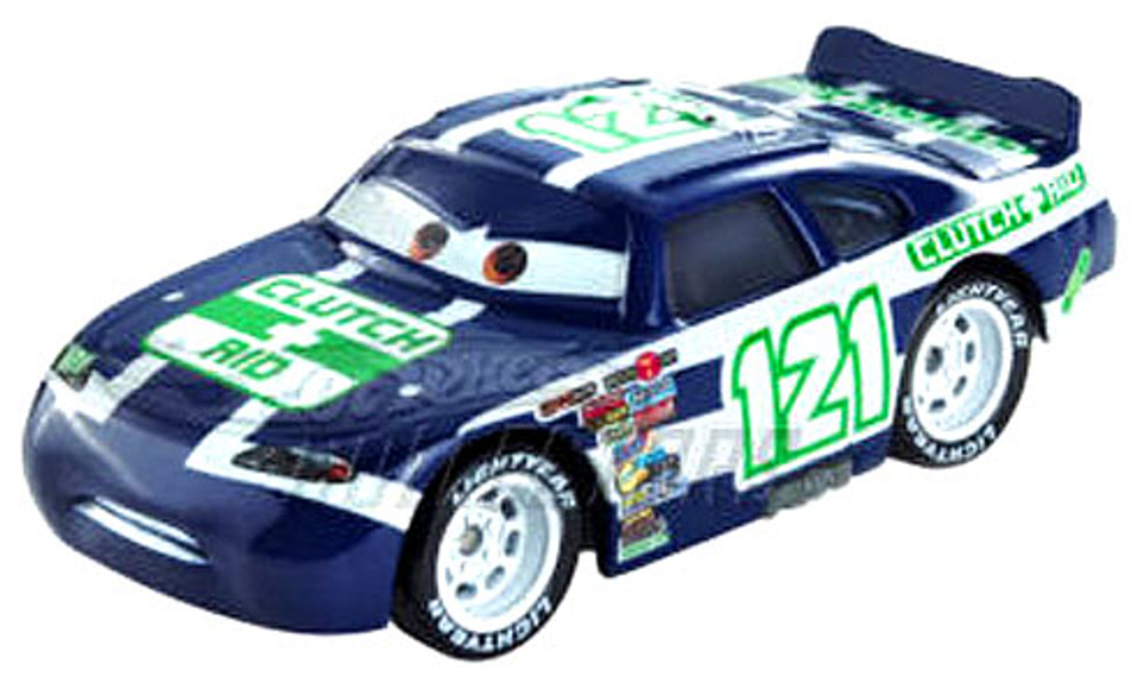 Disney Cars Speedway of the South No. 121 Clutch Aid Exclusive Diecast Car