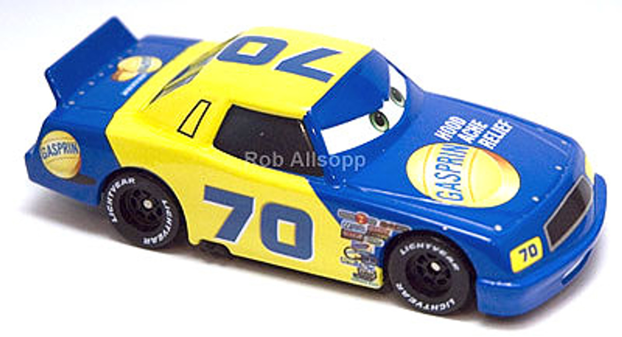 Disney Cars Speedway of the South No. 70 Gasprin Exclusive Diecast Car