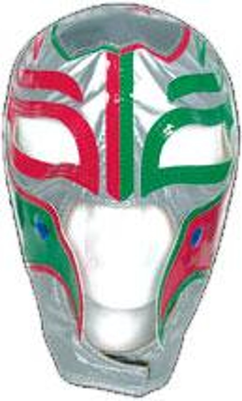 WWE Wrestling WCW Rey Mysterio Replica Mask [Youth, Mexican Colors]