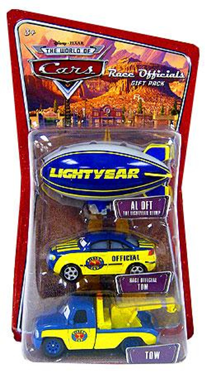 Disney Cars The World of Cars Race Officials Gift Pack Diecast Car Set