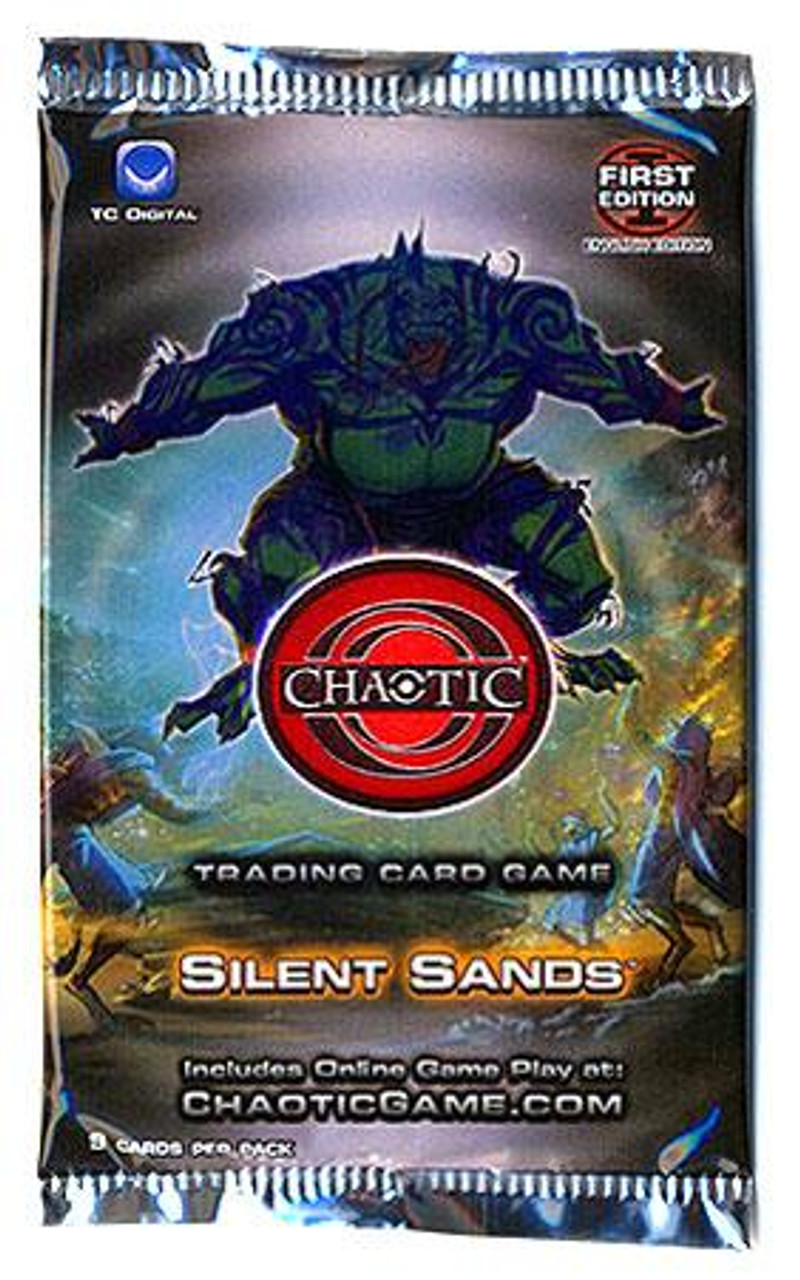 Chaotic Silent Sands Booster Pack