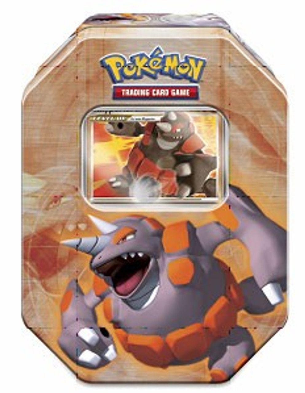 Pokemon 2008 Holliday Series 1 Level-Up Rhyperior Collector Tin