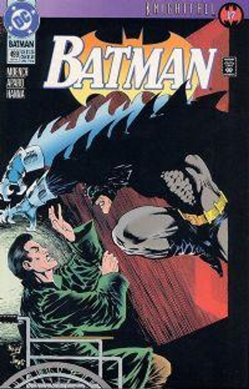 Batman Knightfall Comic Book #499