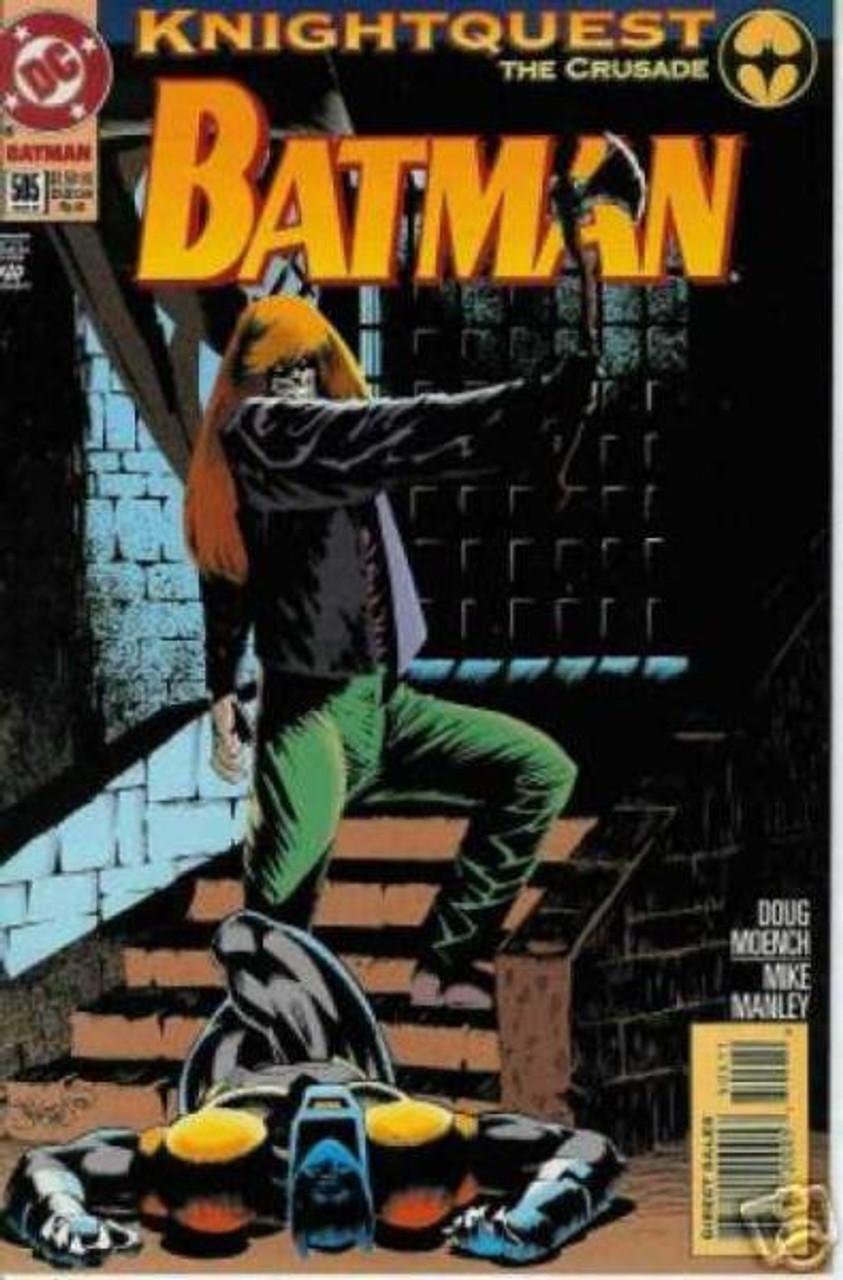 Batman Knightquest the Crusade Comic Book #505