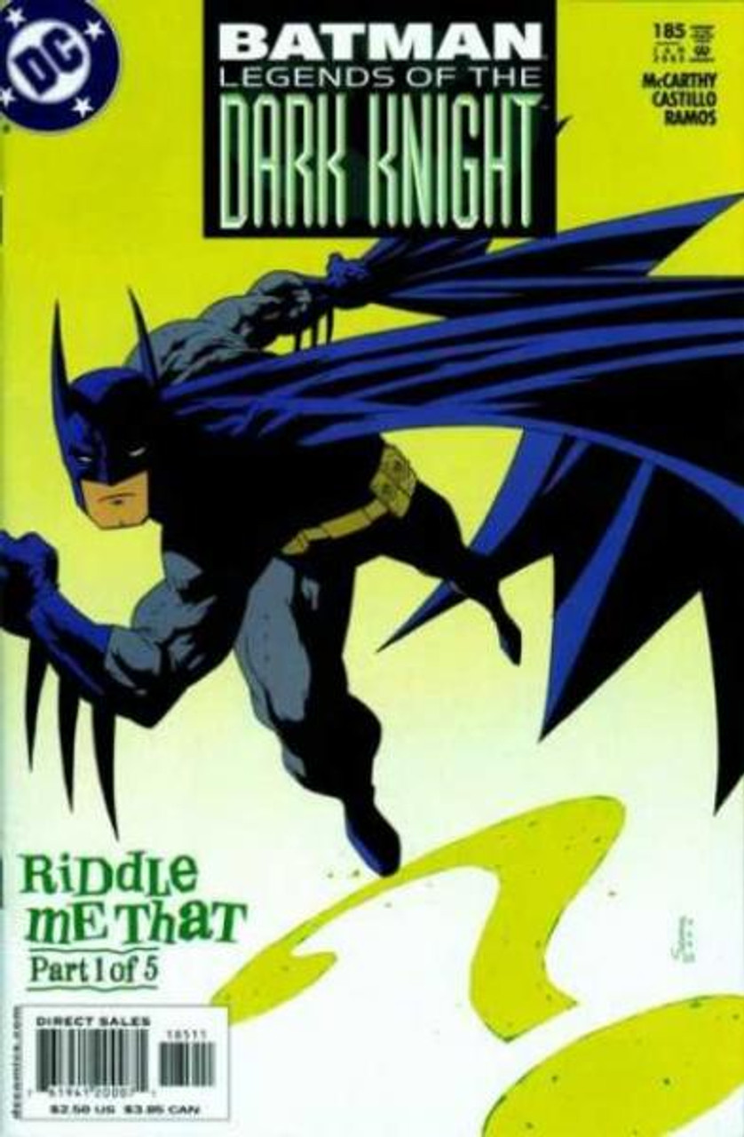 Batman: Legends of the Dark Knight Comic Book #185