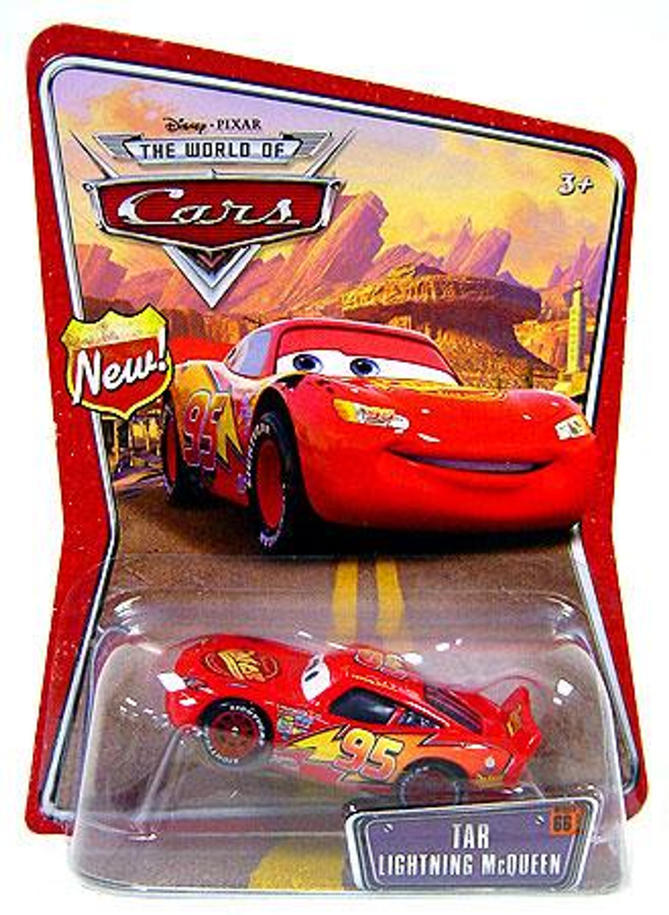 Disney Cars The World of Cars Series 1 Tar Lightning McQueen Diecast Car