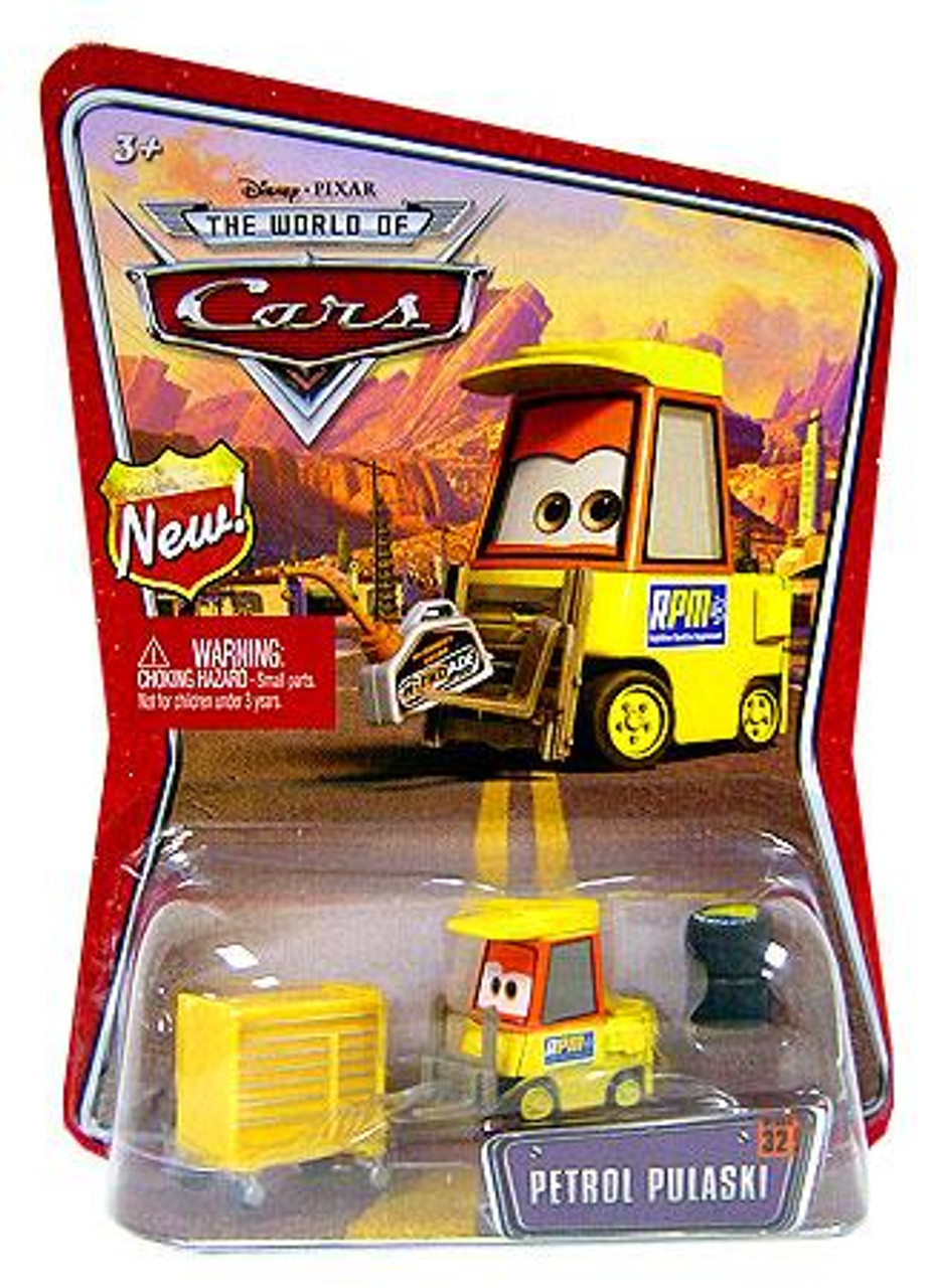 Disney Cars The World of Cars Petrol Pulaski Diecast Car