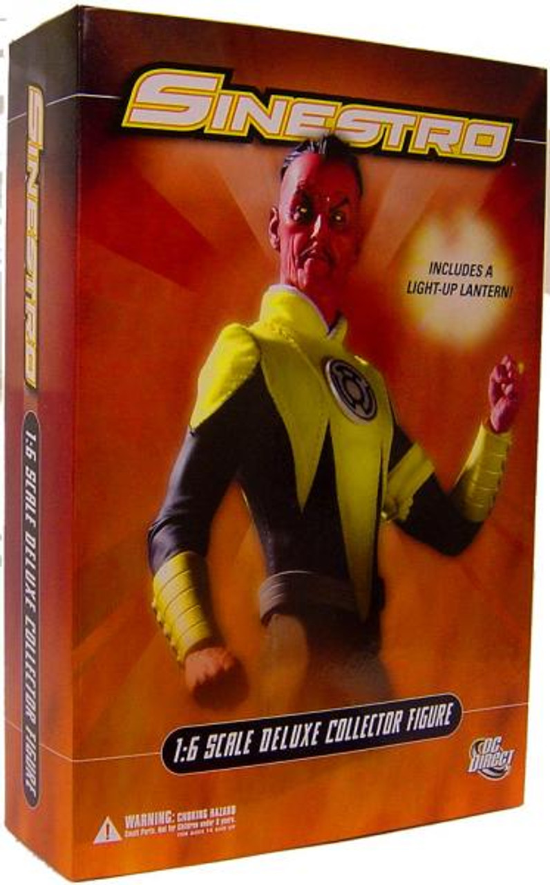 DC Green Lantern 1:6 Scale Deluxe Sinestro 1/6 Collectible Figure