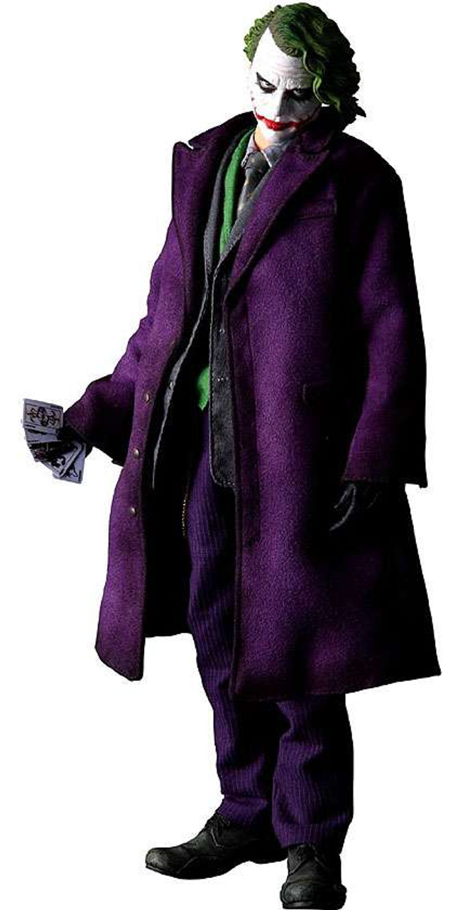 """Batman The Dark Knight Real Action Heroes The Joker Action Figure [""""Why So Serious""""]"""