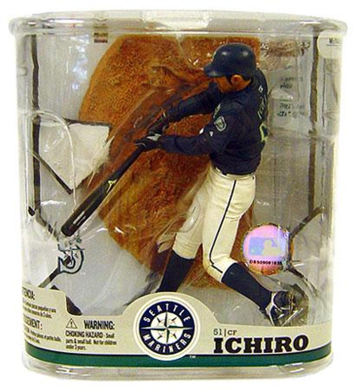 McFarlane Toys MLB Seattle Mariners Sports Picks Series 22 Ichiro Suzuki Action Figure [No Baseball]