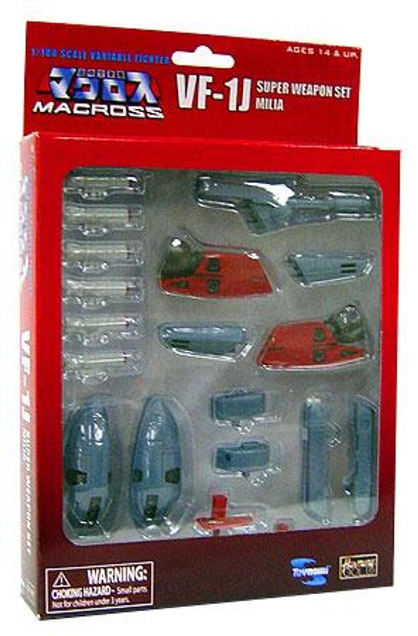 Robotech Macross VF-1J Super Weapon Set [Milia]