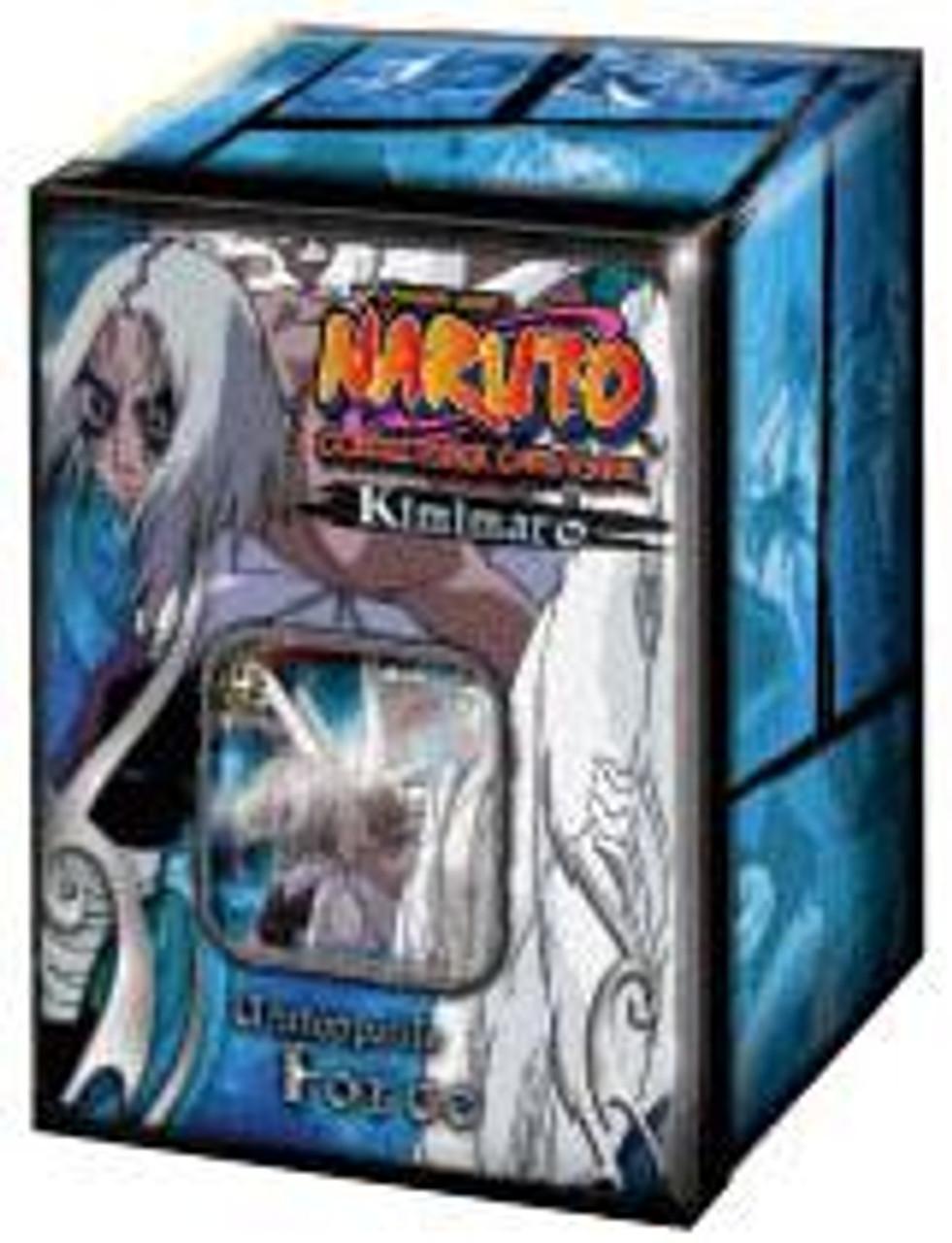 Naruto Card Game Unstoppable Force Kimimaro Collector Tin