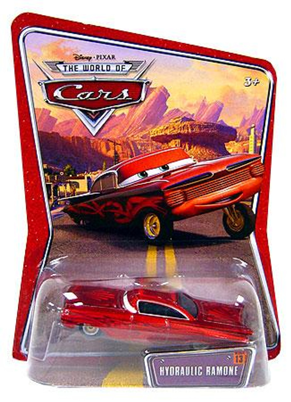 Disney Cars The World of Cars Hydraulic Ramone Diecast Car [Red]
