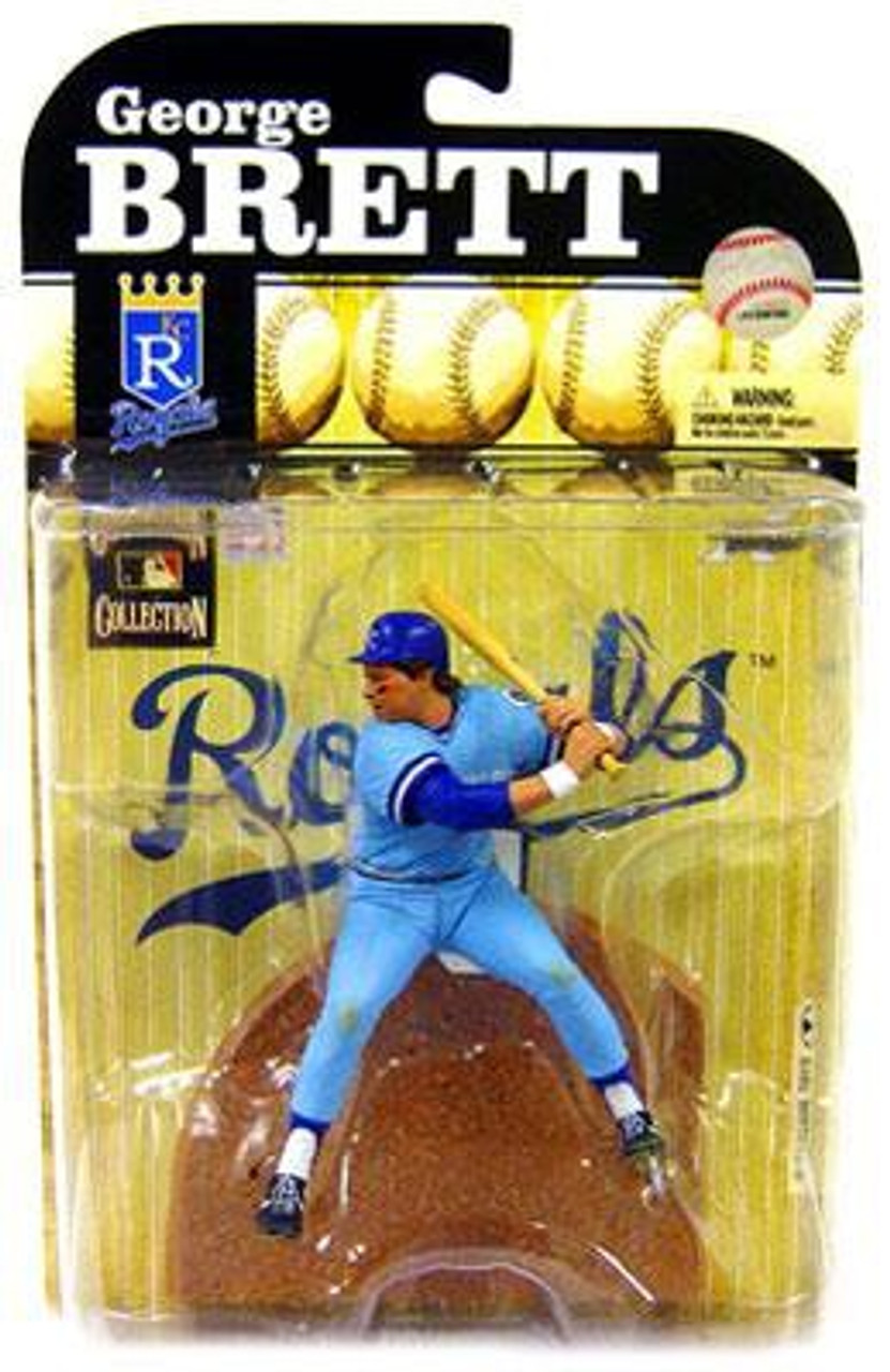 McFarlane Toys MLB Kansas City Royals Cooperstown Collection Series 6 George Brett Action Figure