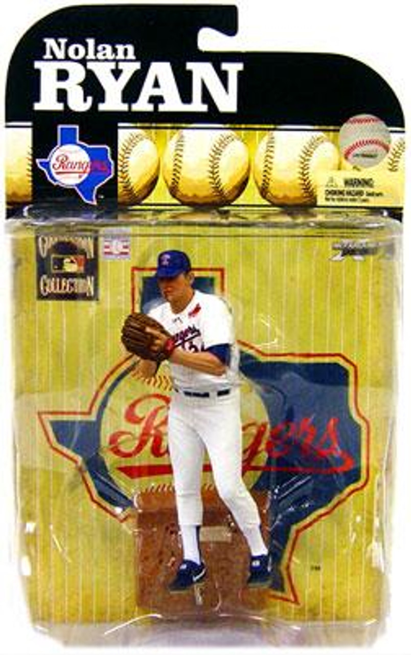 McFarlane Toys MLB Texas Rangers Cooperstown Collection Series 6 Nolan Ryan Action Figure