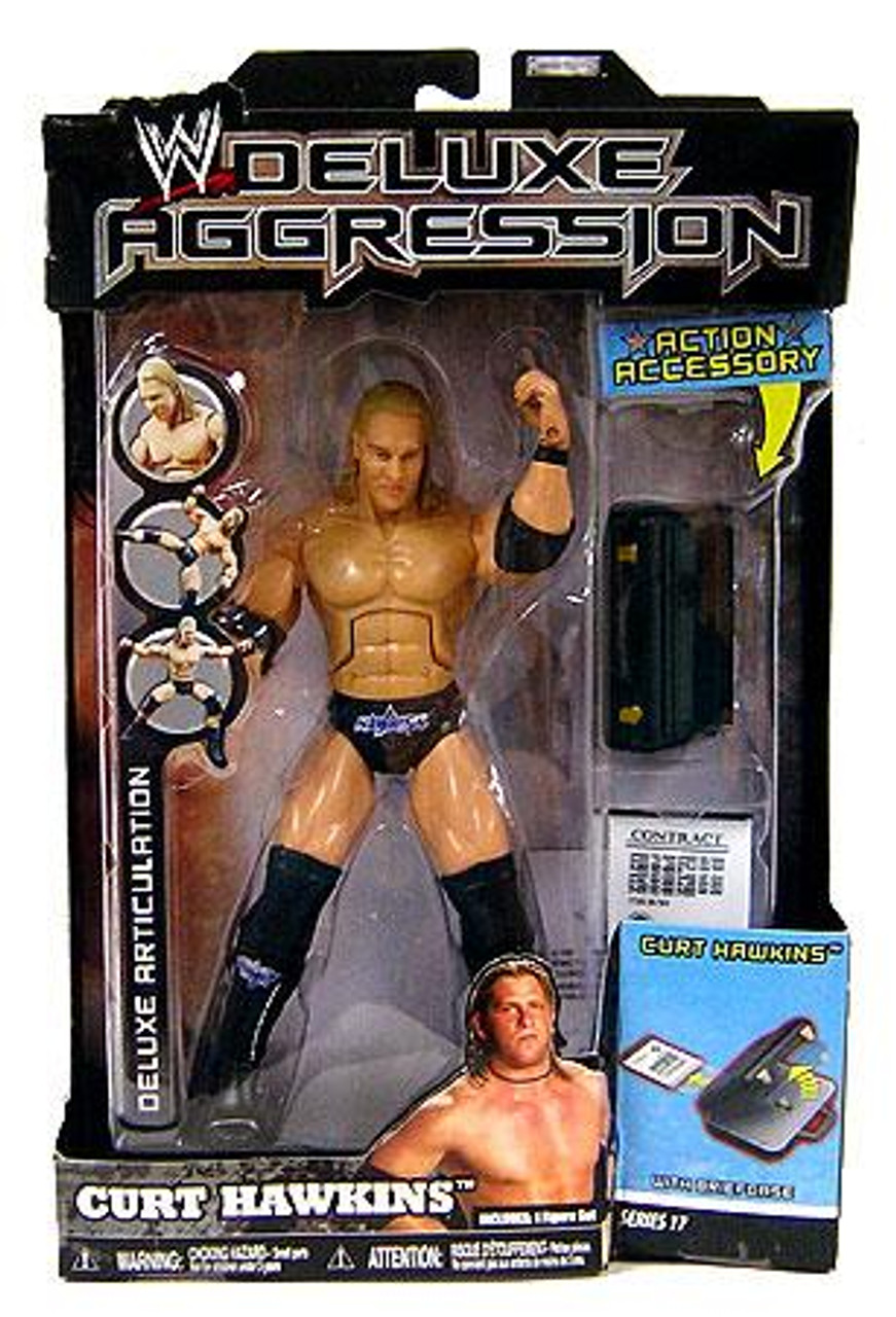 WWE Wrestling Deluxe Aggression Series 17 Curt Hawkins Action Figure