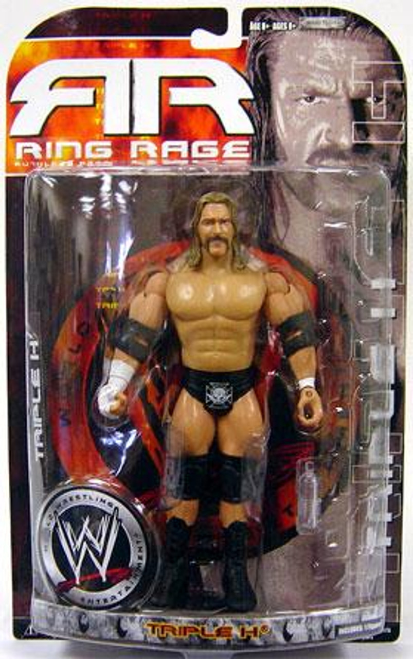 WWE Wrestling Ruthless Aggression Series 35.5 Ring Rage Triple H Action Figure