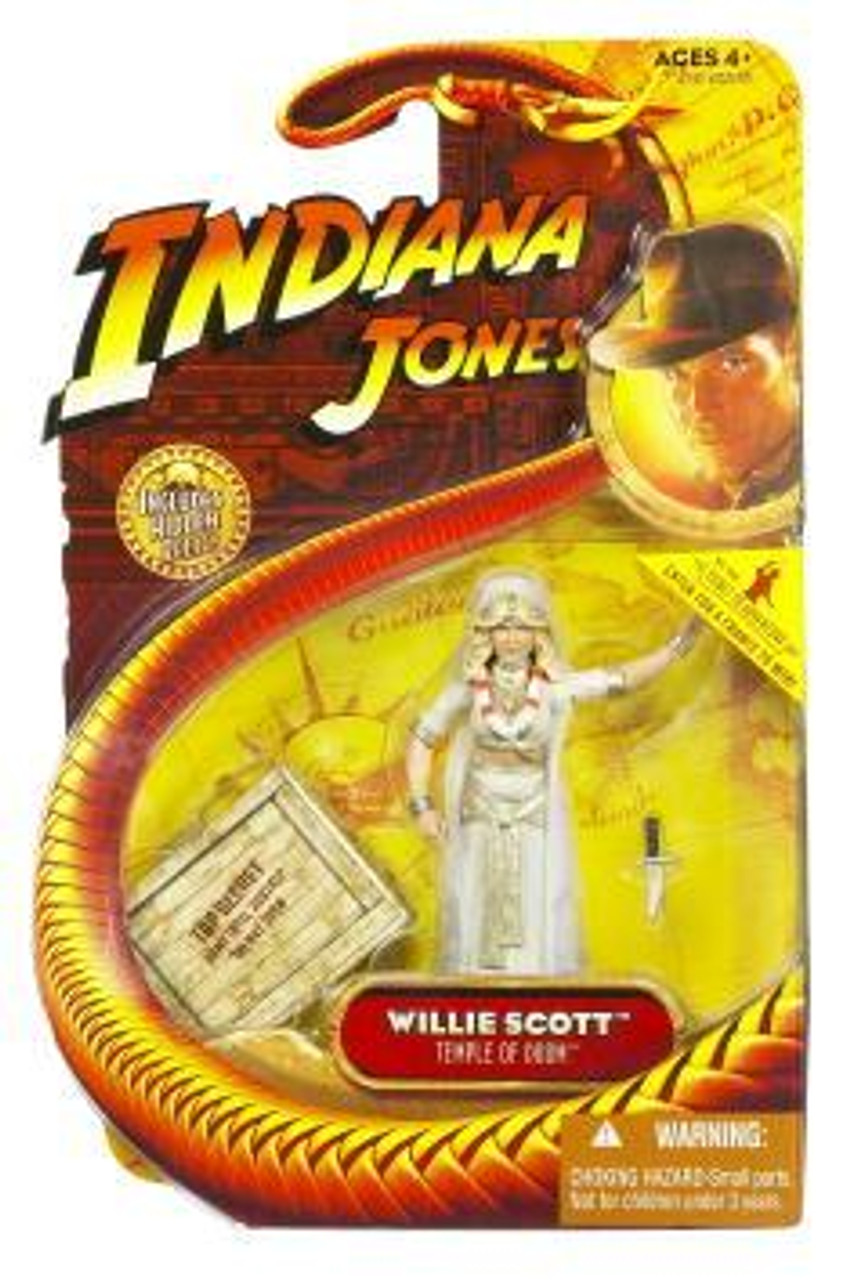 Indiana Jones Temple of Doom Series 4 Willie Scott Action Figure