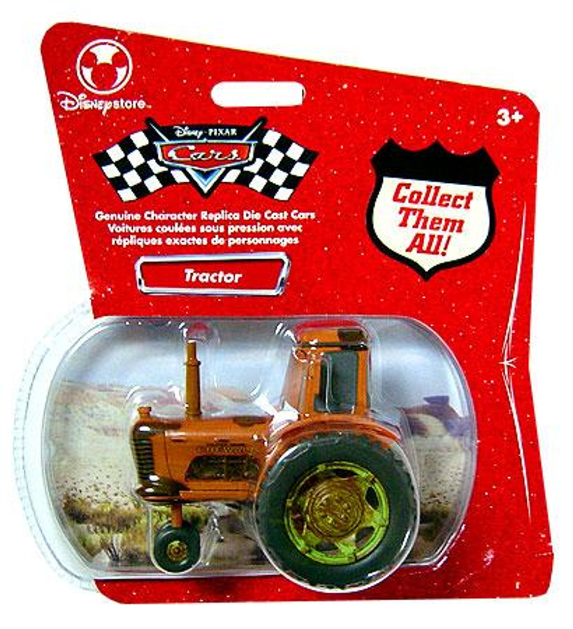 Disney Cars 1:48 Single Packs Tractor Exclusive Diecast Car