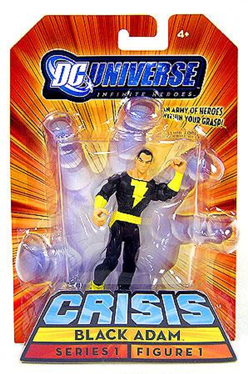 DC Universe Crisis Infinite Heroes Series 1 Black Adam Action Figure #1