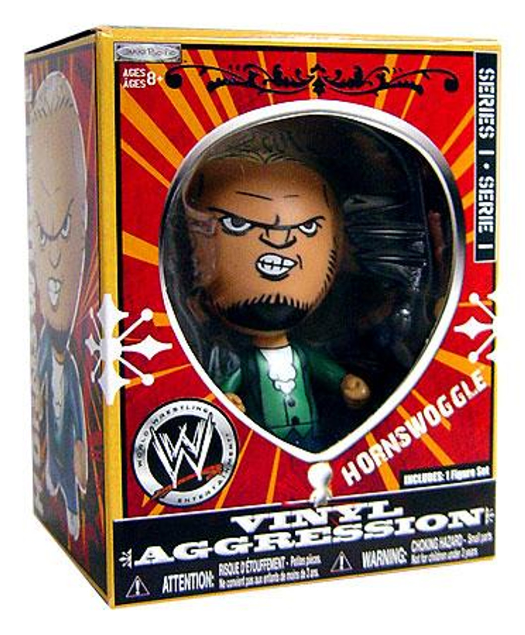 WWE Wrestling Vinyl Aggression Series 1 Hornswoggle 3-Inch Vinyl Figure