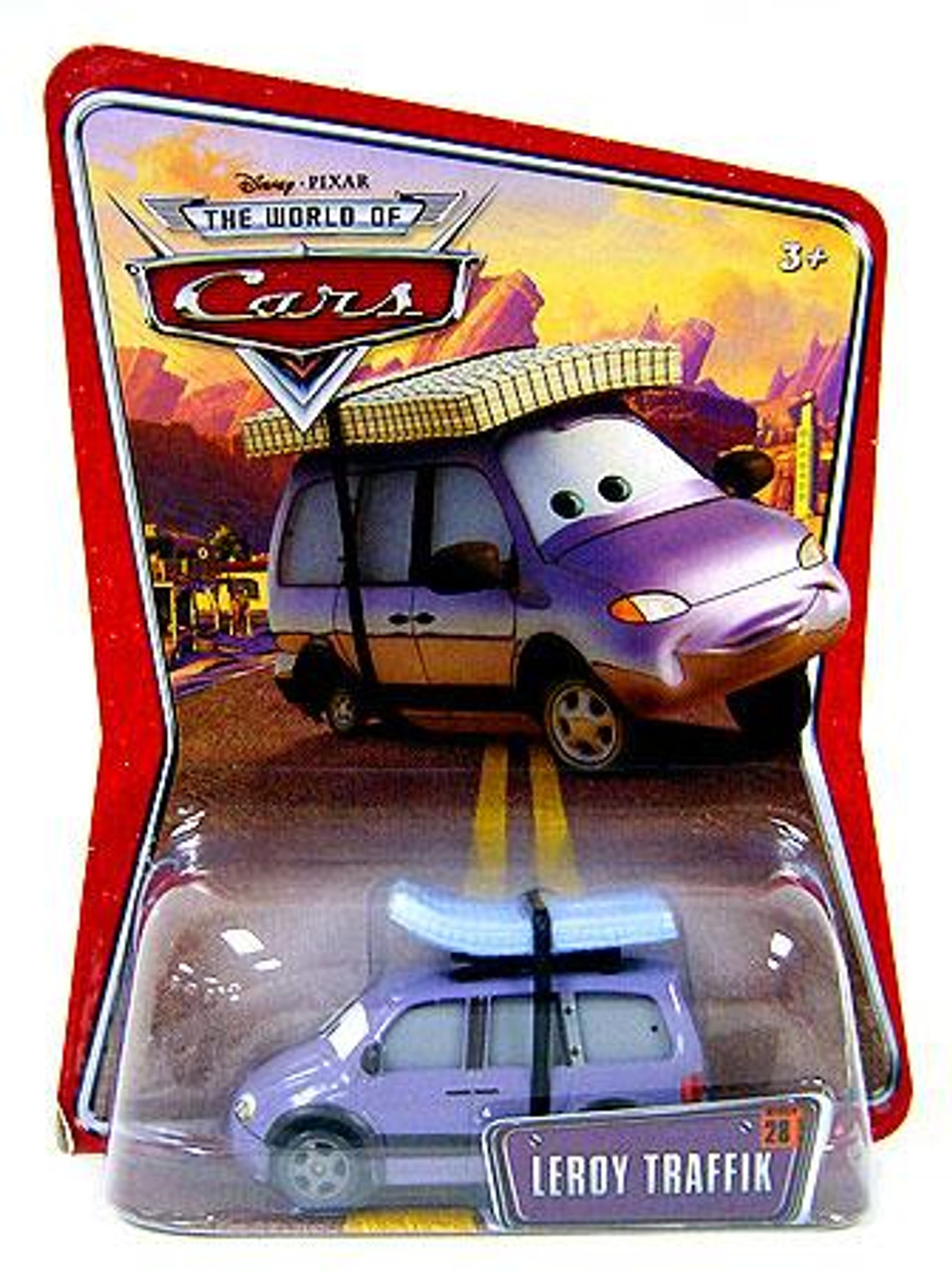 Disney Cars The World of Cars Leroy Traffik Diecast Car